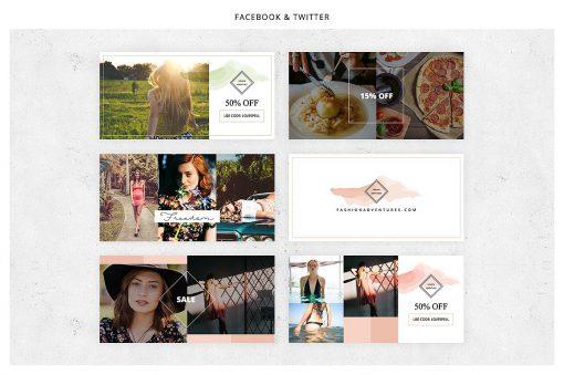 Gorgeous - Social Media Template Bundle - Design HQ